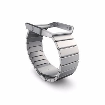 Fitbit Blaze Accessory MetalBand - Standard 5.5-8.1 inches (Silver) Price Philippines