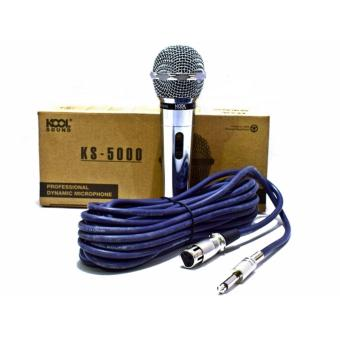 The Platinum KS-5000 High-End Dynamic Wired Microphone Price Philippines