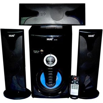 Harga Hug H302 3.1-Channel Multimedia Speaker with Remote Control (Black)