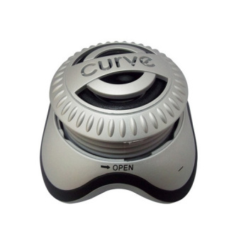 Curve Portable Speaker (Silver) Price Philippines