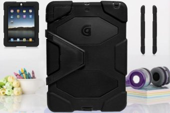 Harga Griffin Survivor Military Hard Case for iPad 5 / Air 1 (Black)
