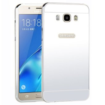 Moonmini Metal Frame Bumper Case for Samsung A8 (silver) Price Philippines