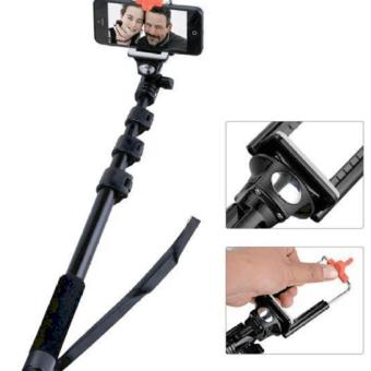 Harga QF Yunteng YT-1288 Deluxed Bluetooth Wireless Camera Monopod (Black)