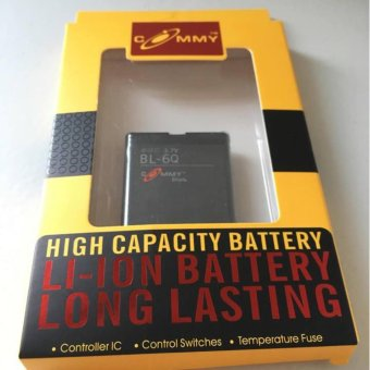 Commy LI-ION Battery for BL-6Q 3.7V 900mAh Price Philippines