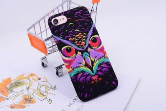Harga SHUNJIA [Night Luminous Glow] Owl Pattern Soft TPU Silicone Case For iPhone 7 - intl