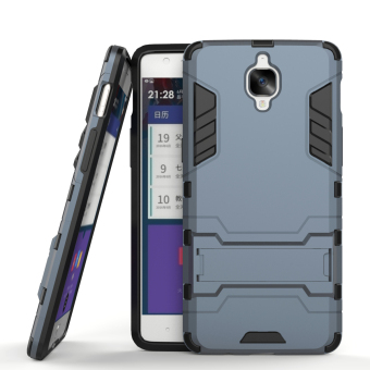 Harga RUILEAN Hybrid Armor Dual-Layer Shockproof Stand Case Cover for OnePlus 3 Sapphire