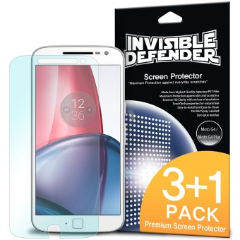 Harga Ringke Invisible Defender Screen Protector for Motorola Moto G4 Plus
