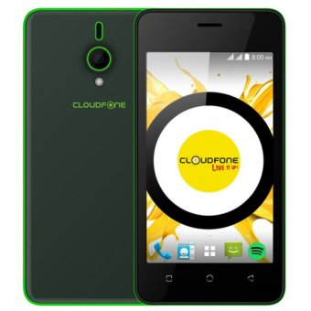 CloudFone Spotify Edition Lite 8GB (Black) with FREE Spotify Earphones Price Philippines