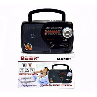 Harga Meier Leotec BLUETOOTH Radio Mu73 With Fm/Am/Sw 3 Band Radio