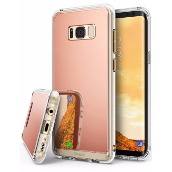 Harga Ringke Mirror Case for Samsung Galaxy S8 (Rose Gold)