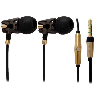 Harga A4Tech MK-790-B HD Ceramic Earphone (Black)