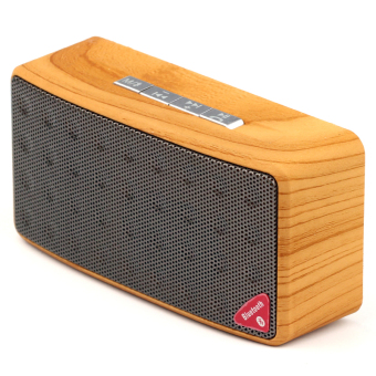 Harga N3 Wooden Wireless Bluetooth Speaker