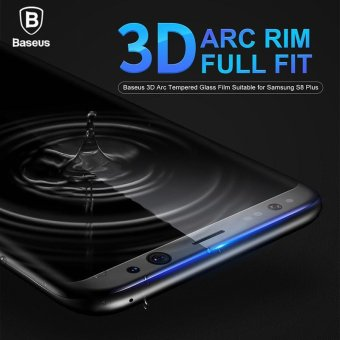 Harga Baseus 3D Arc Tempered Protector Film for Samsung Galaxy S8(white) - intl