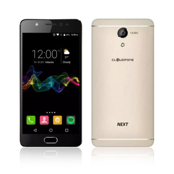 CloudFone Next 32GB (Gold) with Free Jelly Case, Faux Leather Flip Case and Screen Protector Price Philippines