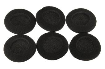 yooyvso Foam Earpad Ear Pad Cover For Earphone Headphone (Black,60mm,3 Pair/6 Pcs) Price Philippines