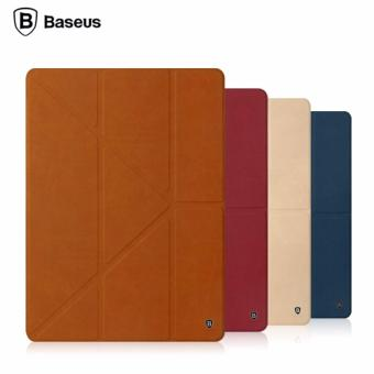 Harga Baseus Terse Leather Case Series For iPad Pro 9.7 (Brown)