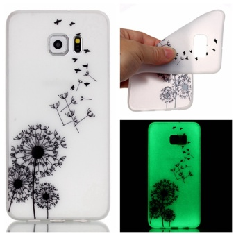 Moonmini Luminous TPU Phone Back Case for Samsung Galaxy S7 Edge - Dandelion Price Philippines