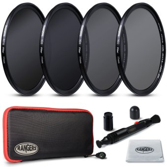 Rangers 77mm ND2 4 8 16 Filter Set Neutral Density + Cleaning Pen for Nikon RA22 Price Philippines