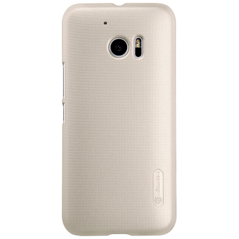 Harga Nillkin PC Matte Super Frosted Shield Back Case for HTC 10 / HTC 10 Lifestyle (Gold) intl