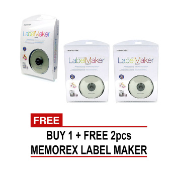 Harga Memorex CD and DVD Label Maker Buy 1 Take 2
