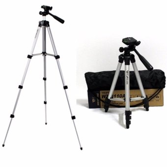 Harga HUG H3110 Tripod Support Stand and Pocket for DSLR Compact Camera DV Canon