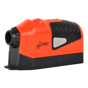 Laser Level Measuring Leveling Instrument - Black Orange (2 x AAA) Price Philippines