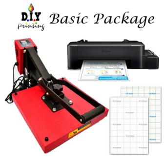 Basic Heat Press Package (Heat press , L120 Printer , ink set ,Transfer paper ) Price Philippines