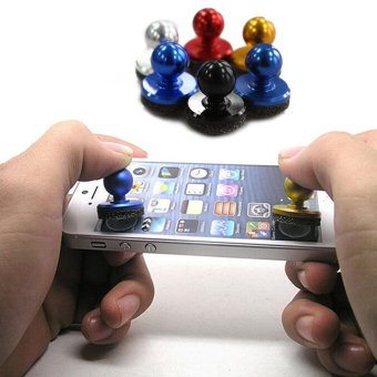 Harga Moonar Mobile Phone Physical Fling Joystick For iPhone Samsung - intl