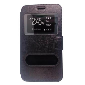 Faux Leather Flip Cover Case for LG Magna(Black) Price Philippines