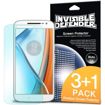 Harga Ringke Invisible Defender Screen Protector for Motorola Moto G4
