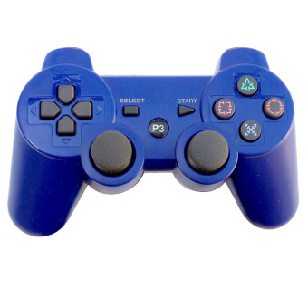 Harga Moonar Wireless Bluetooth Game Controller for Sony PS3 (Blue)