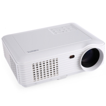 Harga POWERFUL SV-228 LCD Projector 1280×800 Pixels 4000 Lm EU PLUG (White)