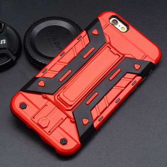 Hard Silicone Phone Case For Apple iPhone 7 plus (Red) Price Philippines