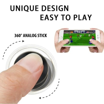 Fling Mini Game Joystick Gamepad Mini Game Controller Fling Mini Mobile Controller Joystick for Game For Any Touch Screen Smartphone/Tablet PC - intl Price Philippines