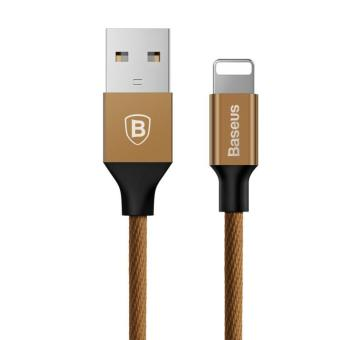 Harga Baseus 3M Original 8Pin USB Cable for Lightning To USB Fast Charging Cable for IPhone 7 5 6 Plus IPad IPod - intl