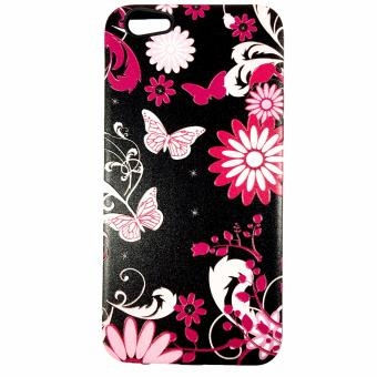 Harga DualPro Hard Shell PC Case with Floral Paint for Oppo F3 Plus #5