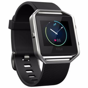 Fitbit Blaze Wireless Activity and Sleep Wristband - Large (Black Silver) Price Philippines