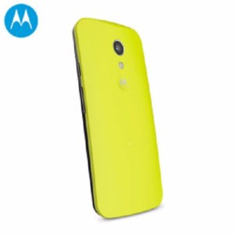 Harga Original Motorola Moto G 1st Gen Back Cover Shell Lemon Yellow