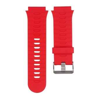 Harga For Garmin Forerunner 920XT Strap with Original Screws(Red) - intl