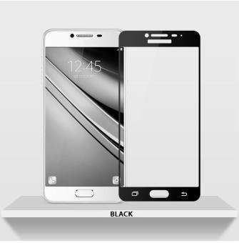 Harga HD 9H Tempered Glass Screen Protector for Samsung Galaxy J7 Prime (Black)