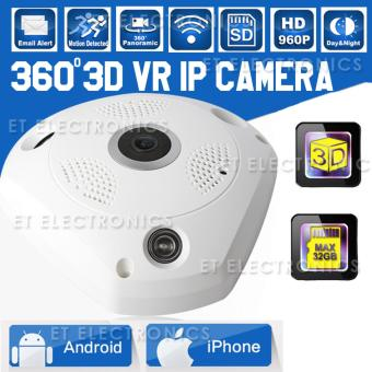 HD 960P VR IP Camera WiFi Fisheye Lens 1.3MP 3D Panoramic Camera Security Wireless Night Vision CCTV Surveillance Cams Price Philippines