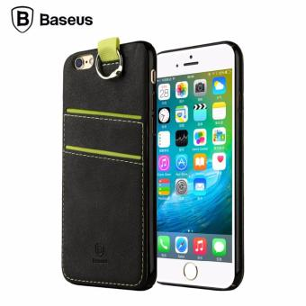 Harga Baseus Lang Case For Apple iPhone 6/6S Case Cover (Black)