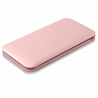 Harga N-Power NP-1070 10,000mAh Fast Charging 3.0A Output Built-In Micro USB (V8) with Lightning Adapter (IP5) Powerbank (Rose Gold)