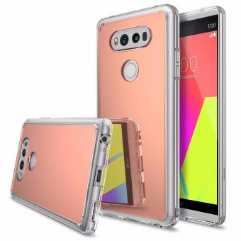 Harga Ringke Mirror PC/TPU Case for LG V20 (Rose Gold)