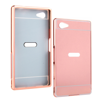 Harga RUILEAN Luxury Metal Aluminum Bumper Case for Sony Xperia Z5 Compact (Rose Gold)