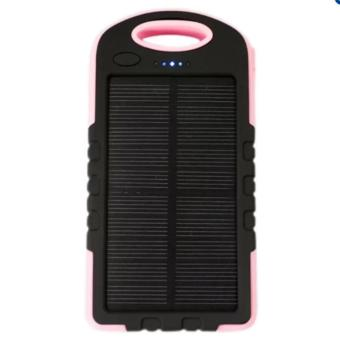 Harga Waterproof Solar PowerBank w/ LED