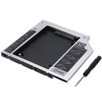 Universal SATA 2nd HDD HD Hard Driver Caddy for 9.5mm CD/DVD-ROM Optical Bay set Price Philippines