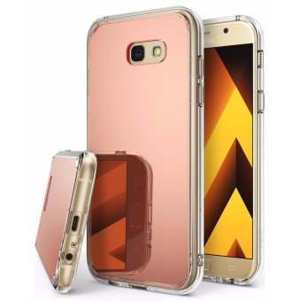 Harga Ringke Mirror Case for Samsung Galaxy A7 2017 (Rose Gold)