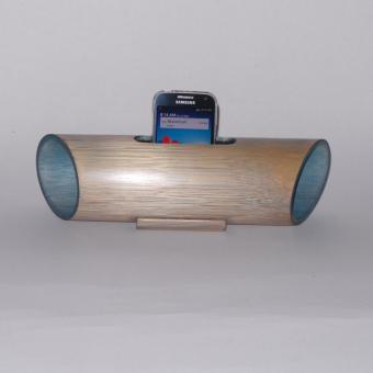 Harga Speaker Natural Look Bamboo (Light Blue)