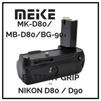Harga MeiKe MK-D80 / MB-D80/BG-90 Battery Grip for Nikon D80 D90